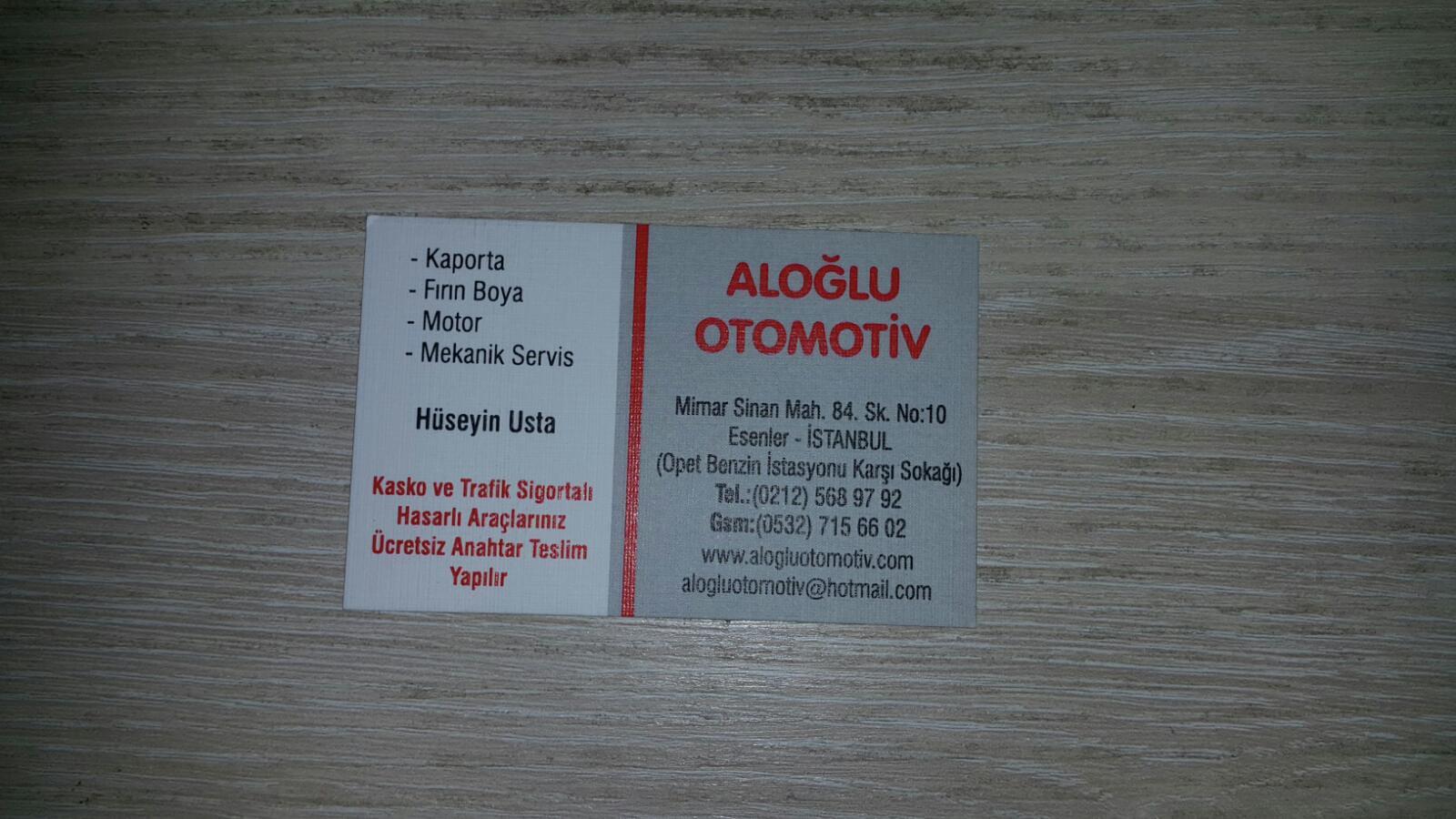 Aloğlu Otomotiv